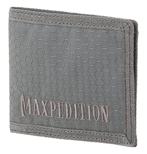 (Maxpedition BFW Bi Fold Wallet, Gray)