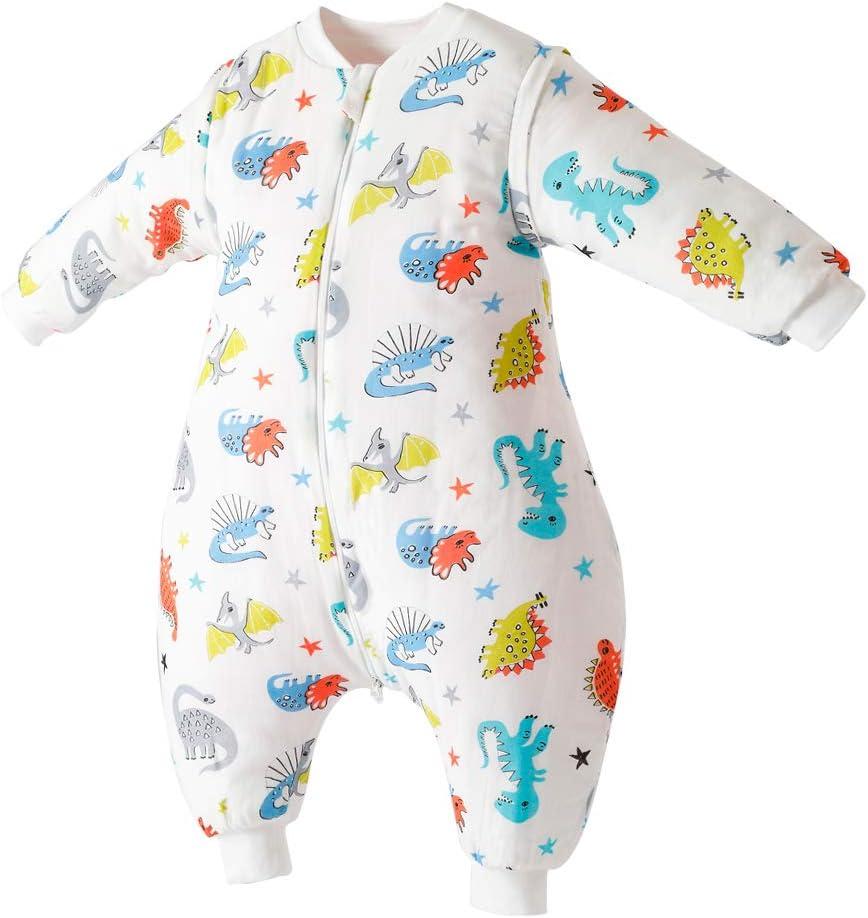 Amazon Com Happy Cherry Baby Infant Winter Cotton Sleeping Sack Warm Wearable Blanket With Legs One Piece Cartoon Pajamas Sleep Play Home Kitchen