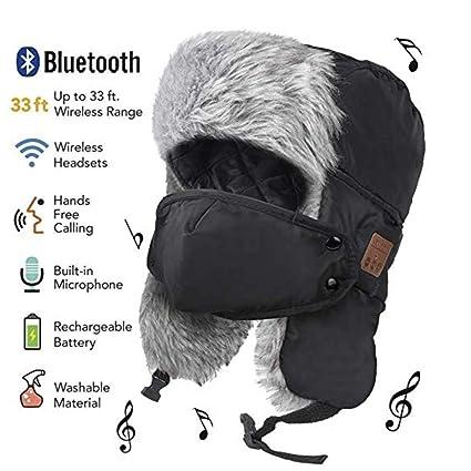 Cuffia auricolare lavabile cuffia morbida cappello sportivo cuffia stereo senza fili cappello caldo invernale con maschera
