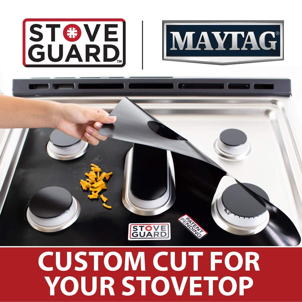 Maytag Stove Protectors Stove Top Protector for Maytag Gas Ranges Ultra Thin Easy Clean Stove Liner