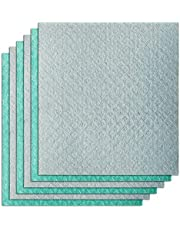 Swedish Dishcloth 6 Pack of Eco-Friendly Reusable quick dry Cleaning Cloth for Kitchen, Absorbent Dish Cloths kitchen Towel for Washing Dishes(Dishcloths-Assorted)