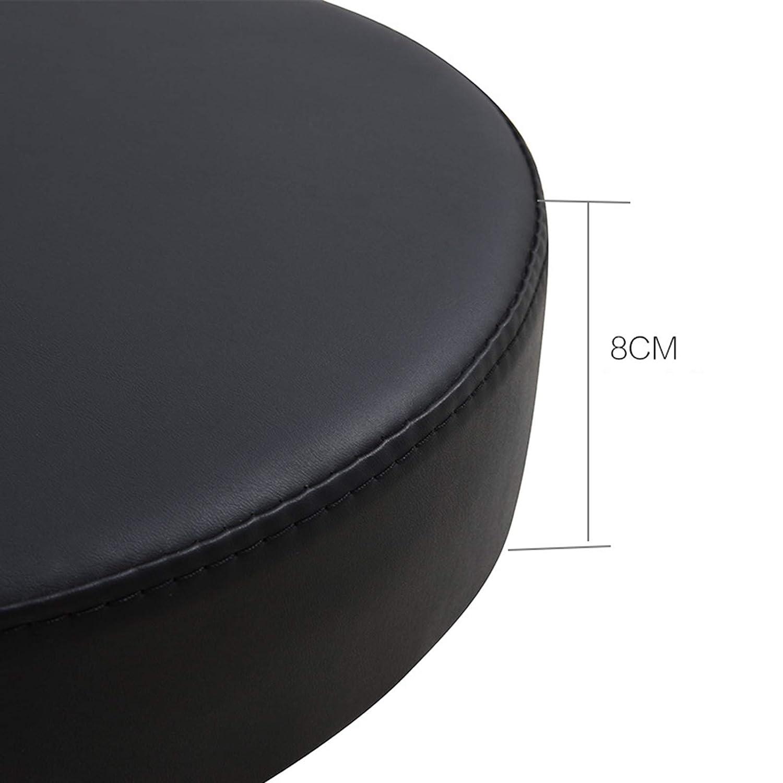 WANGXNFodral rullande salong pall justerbar svängbar höjd justerbar, sadelpall för skönhetssalong massage tandklinik hem kontor användning Ljusgrå