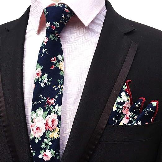 Dig Dog Bone - Corbata de algodón para Hombre, diseño Floral con ...
