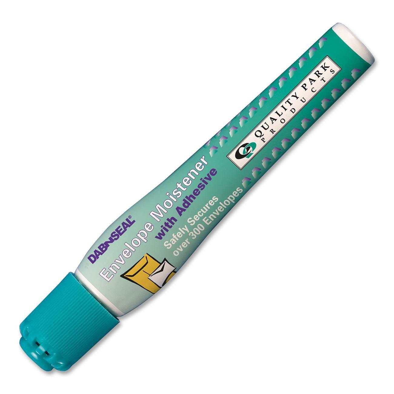 Quality Park Dab-N-Seal Go Moistener Pens, 10 ml, 2 Pack (46066)