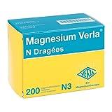 MAGNESIUM VERLA N Dragees 200 St Tabletten magensaftresistent