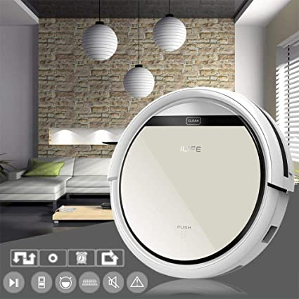 Amazon.com: YIGEYI ILIFE V5 Intelligent Robotic Vacuum Cleaner LCD ...