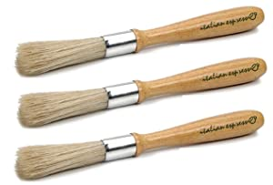 "RSVP Coffee Maker Grinder Brush 7.5"" Grain Wheat Mill Cleaner EUB (3-Pack)"