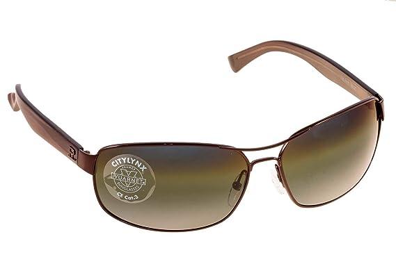 Amazon.com: Vuarnet anteojos de sol VL 1117 m02t metal negro ...