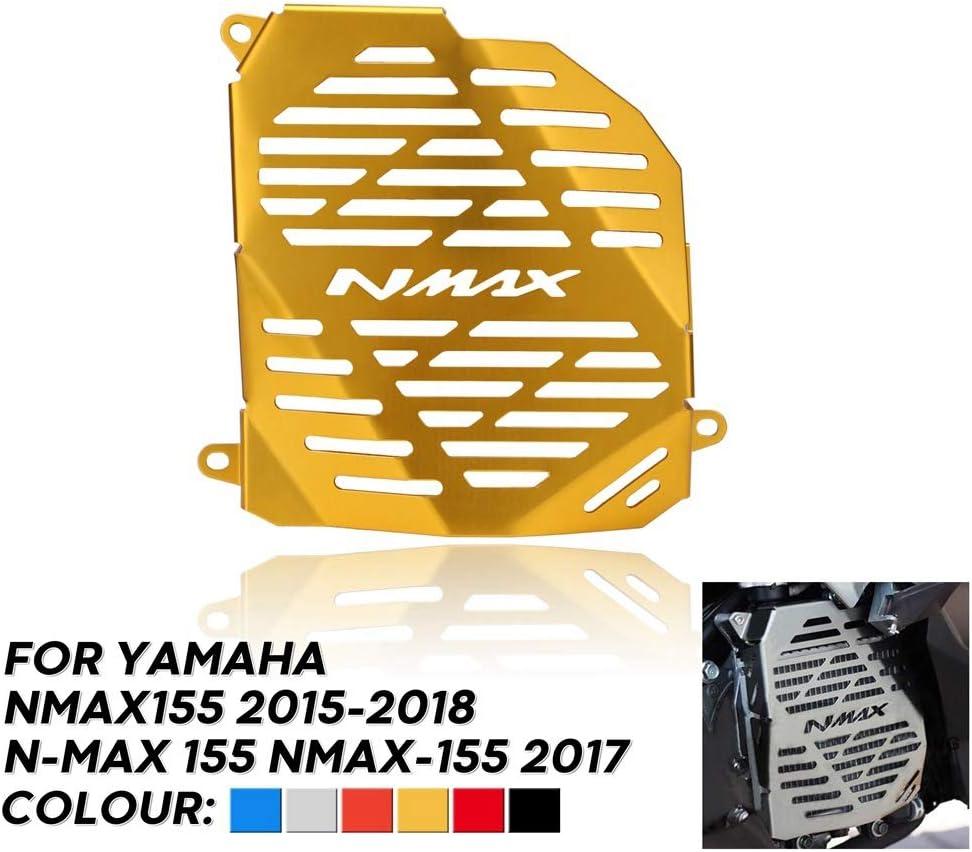 SODIAL Protector de Radiador de Motocicleta de Acero Inoxidable Protecci/óN de Cubierta de Rejilla de Radiador para NMAX155 2015-2018 N-MAX 155 NMAX-155 2017 Azul