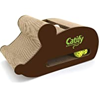 Catify Mouse-Shape Cardboard Scratcher with Catnip by Best Pet Supplies
