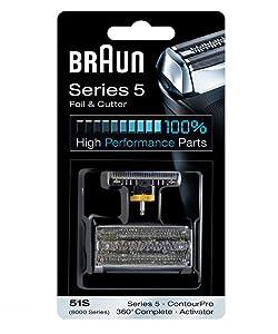 Braun 8000 360 Complete Foil/Cutter Block for Models 8995, 8985, 8975
