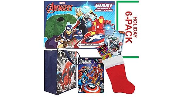 Ruz Avengers Kids Felt Holiday Stocking Home Decor