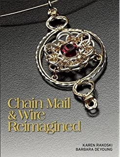 Amazon classic chain mail jewelry sue ripsch jewelry chain mail wire reimagined mozeypictures Image collections