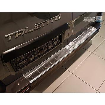 Autostyle 2/51009 - Protector de Parachoques Trasero de Acero Inoxidable para Opel Mokka X