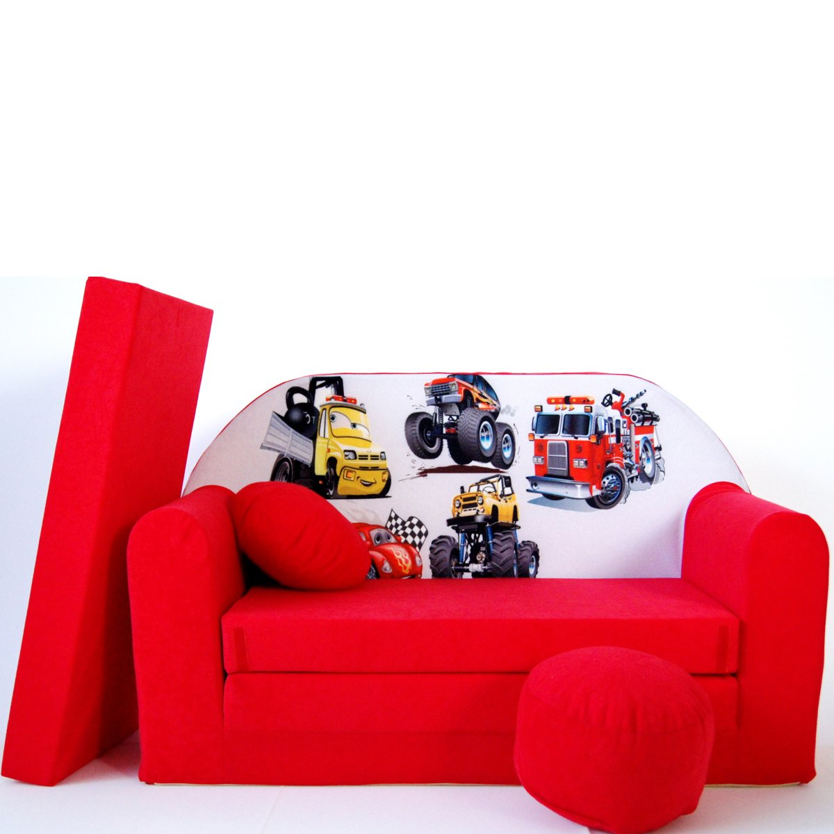 barabike Kindermouml;bel D14 Niños Bar Dormir emergente sofá sofá sofá Mini sofá 3 en 1 Baby Set + – Sillón Infantil y Asiento cojín + colchón