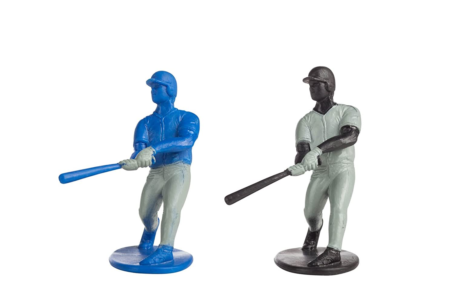 for Ages 3 and Up 6200 Inspires Imagination with Open-Ended Play Kaskey Kids Baseball Guys: Black vs Blue Includes 2 Full Teams and More