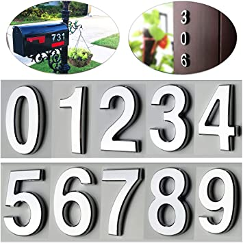0-9 Heavy-Duty Aluminium Branding Irons  Set of 9 mm x 73 mm Numbers