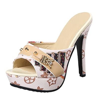 34697947768996 Sommer Weiblich Sandalen mit dicken weiblich Hausschuhe tragen ein ...