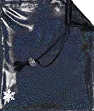 Snowflake Designs Sparkle Gymnastics Grip Bag - Black