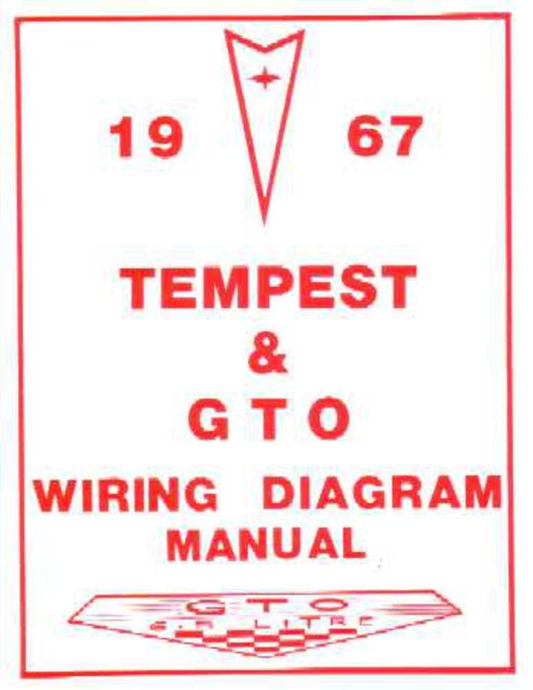 amazon com bishko automotive literature 1967 pontiac gto tempest 1989 Pontiac Firebird Wiring Diagram amazon com bishko automotive literature 1967 pontiac gto tempest electrical wiring diagrams schematics manual book oem automotive