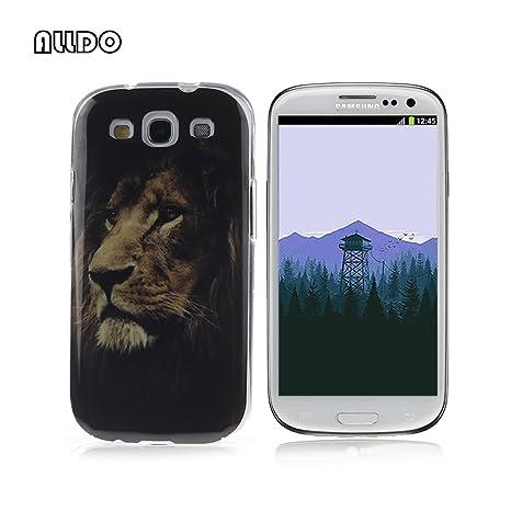 AllDo Funda Silicona para Samsung Galaxy S3 i9300 Carcasa Protectora Caso Suave TPU Soft Silicone Case Cover Bumper Funda Ultra Delgado Carcasa ...