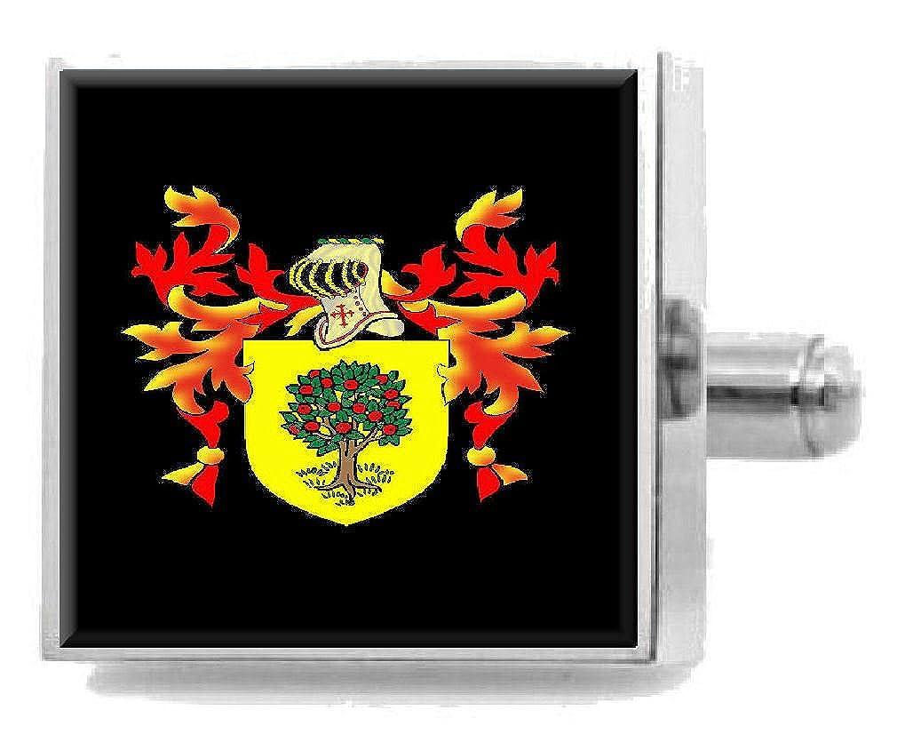 Select Gifts ヴィンセントイングランド ヘラルドリーストスターリングシルバーカフリンクス 刻印入りメッセージボックス   B07FDFLG91