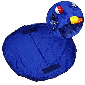 "TIDY Toy Storage Bag Organizer Rug For Legos Portable Kid Play Mat 59/"""