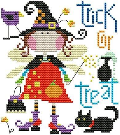 "Lemon Tree Cross Stitch Kits Beginners Cross-Stitching Accurate Pre-Printed Pattern 11CT 9/""X19/"" Girl"