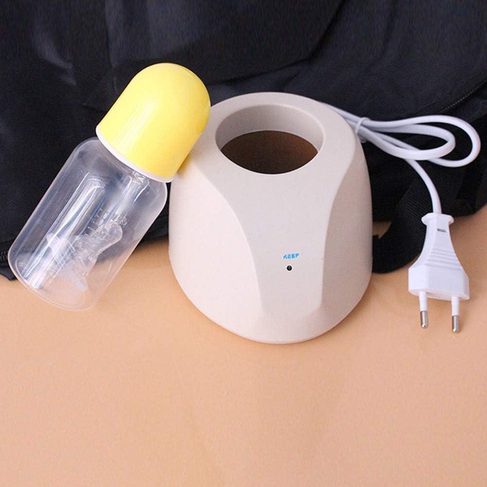 Shumo Spina UE Scaldabiberon Elettrico Riscaldatore di Alimenti per Neonati Infante Multifunzionale Infantile Veloce Coperchio Riscaldato per Biberon un Temperatura Costante