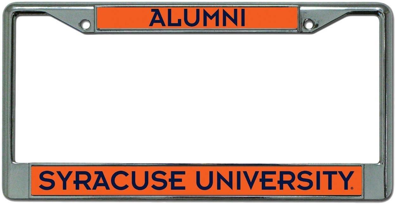 Rico Syracuse Orange Alumni Metal License Plate Frame
