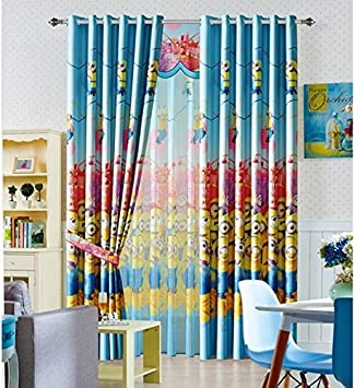 Amazon.de: Gardinen MINIONS 150cmB x 260cmL Kinderzimmer Vorhang
