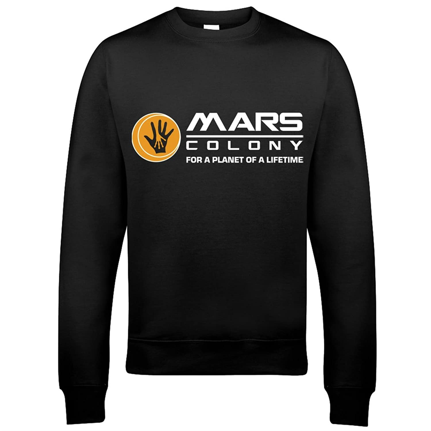 9179 Mars Colony Mens Sweatshirt Total Recall Federal Colonies Rekall Memory Moon Sarang