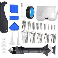 BeiLan 31 stks Siliconen Sealant Remover, Caulking Tool Kit met Caulk Remover/3 in1 Sealant Afwerking Tool, Mastiek…