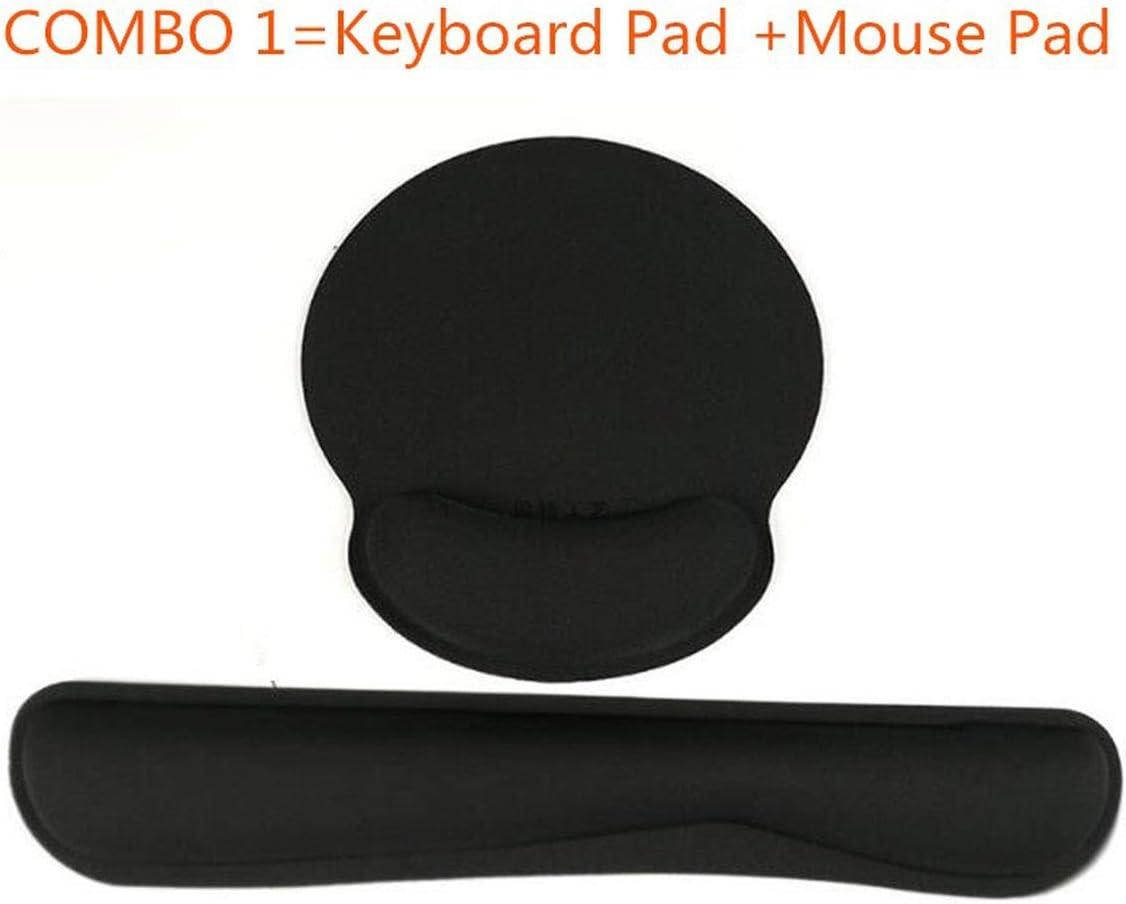 Memory Foam Mouse Keyboard Wrist Rest Pad Set for Keryborad Mechanical Gaming Working Laptop Pc 10Pcs,Green,C