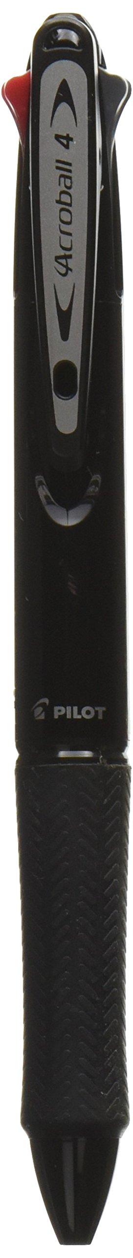 Pilot 4 Colors Ballpoint Pen, Acroball 4 Fine, Black, Red,..