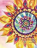#bulletjournal notebook: mandala flower