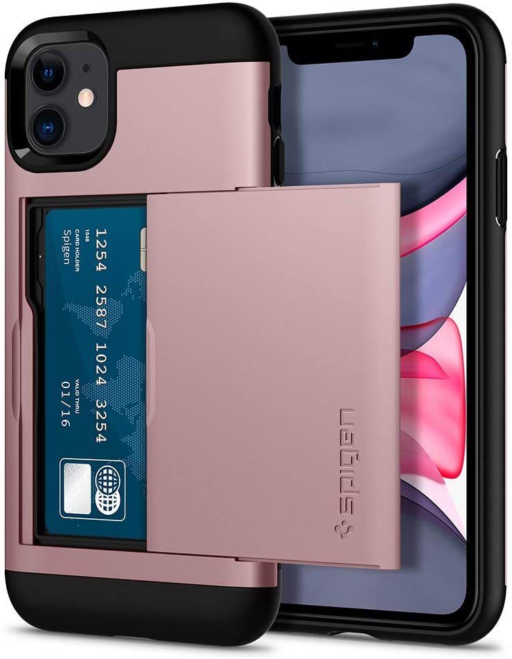 Spigen Slim Armor CS Designed for iPhone 11 Case (2019) - Rose Gold
