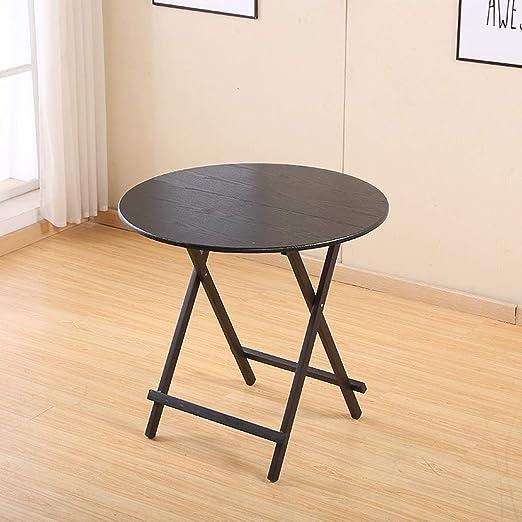 YZjk Mesa Plegable Mesa de Comedor para el hogar Apartamento ...
