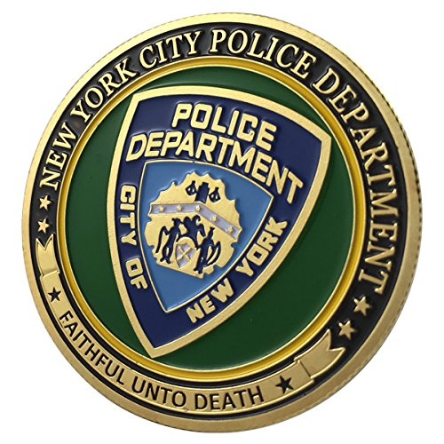 New York City Police Department / NYPD G-P Challenge coin 1114#