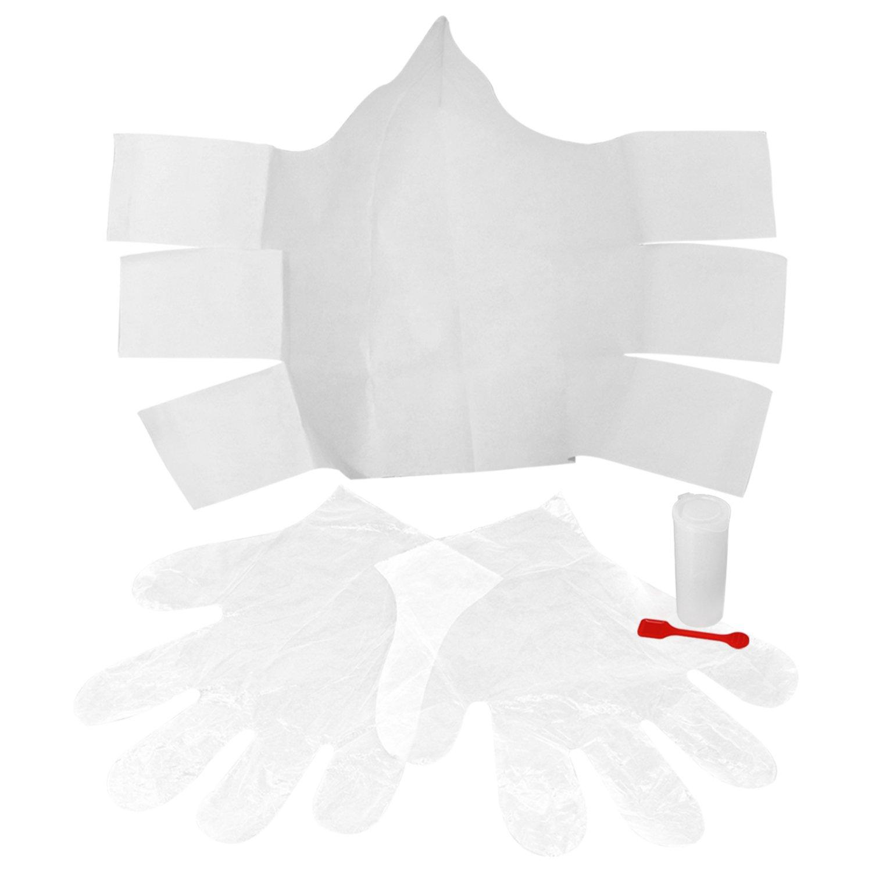 COM-FOUR/® 3X Kit di campionamento per Sedia per Campioni di feci di casa spatola per Campioni e Guanti Semplice ed igienico 03 Pezzi Sgabello Non sterile Raccoglitore di feci USA e Getta