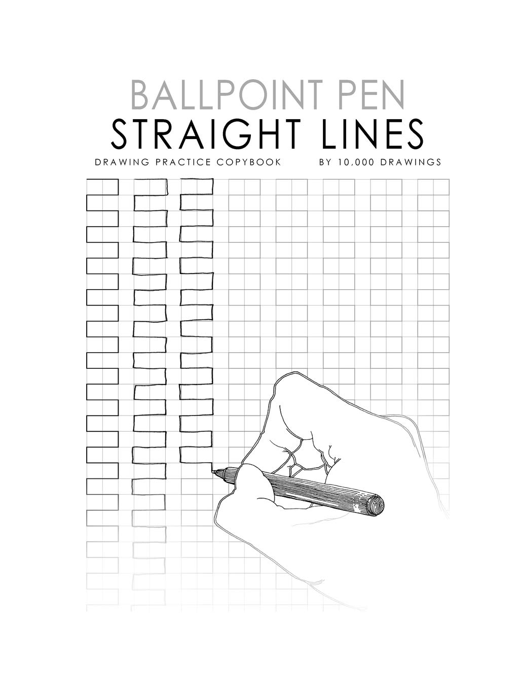 Stupendous Ballpoint Pen Straight Lines Drawing Practice Copybook 10000 Wiring Digital Resources Minagakbiperorg