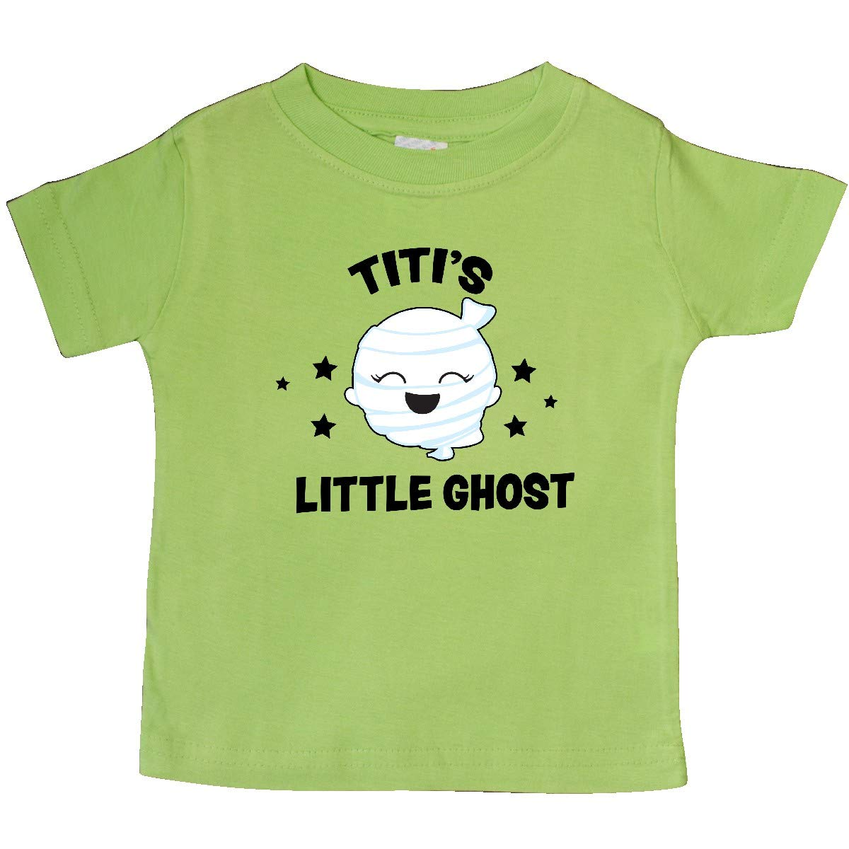 inktastic Cute Titis Little Ghost with Stars Baby T-Shirt
