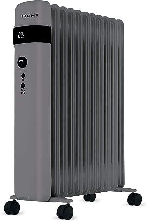 IKOHS ORH2500 - Radiador de Aceite (Gris): Amazon.es: Hogar