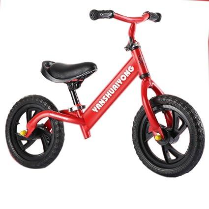 YSH 12 Pulgadas para Niños, Dos Ruedas, Equilibrio, Bicicleta, Scooter, Andador