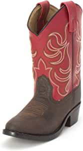 Smoky Mountain Kids Monterey Red Boots