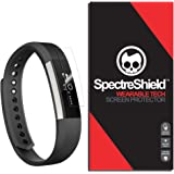 [7-PACK] Screen Protector Compatible with Fitbit Alta by Spectre Shield (Wearable Tech) Flexible Full Coverage Invisible HD Clear Anti-Bubble Anti-Scratch
