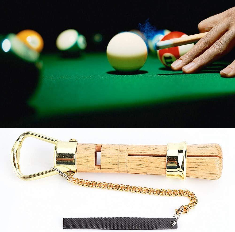 VGEBY1 Pince /à Pointe l/ég/ère en Bois Snooker Pince /à Pointe Compatible avec Les queues de Snooker 10MM /& 11MM