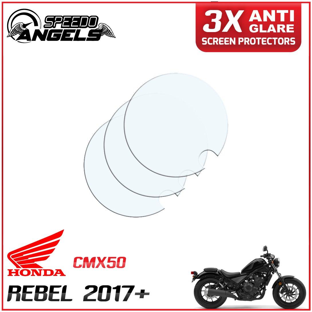 Dashboard screen protector 3 x Anti Glare Honda Rebel CMX500 2017