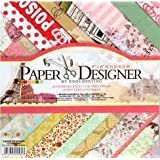 Eno Greeting Reminiscence Beautiful Pattern Printed Papers for Art n Craft (Multicolour)