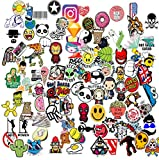 (100 Pack) Sticker Bomb Pack Variety Vinyl Car Sticker Motorcycle Bicycle Luggage Decal Graffiti Patches Skateboard Stickers for Laptop Stickers